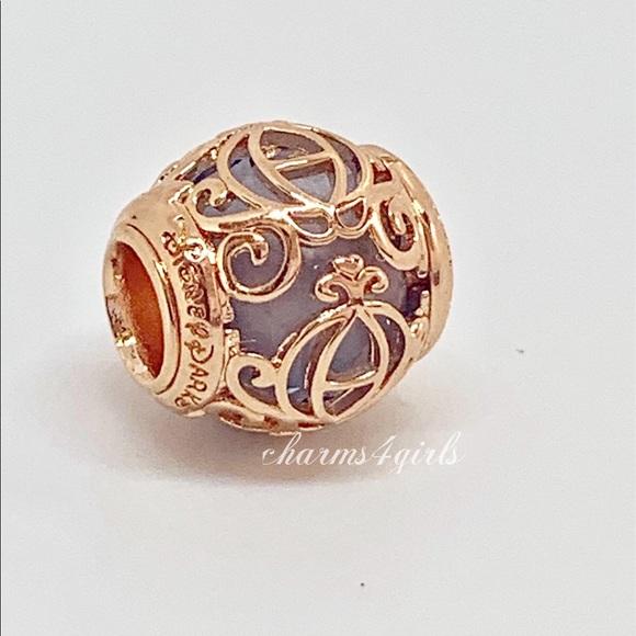 Pandora Jewelry - Authentic Pandora Cinderella coach rosegold plated